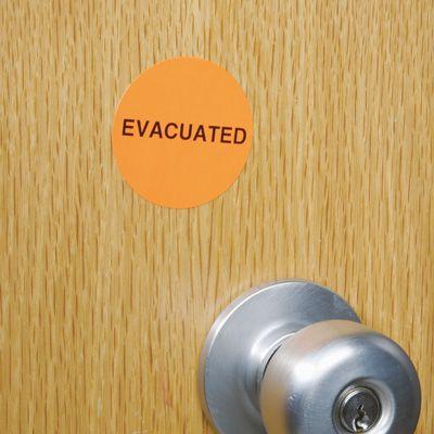 Evacuated Markers