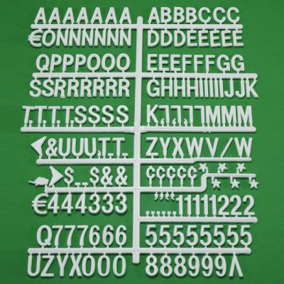 Extra Changeable Letters