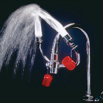 Faucet Mount Eye / Face Wash Units - Gooseneck Faucets