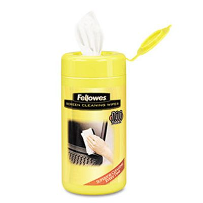 Fellowes® Alcohol-Free Screen Cleaning Wipes 99703
