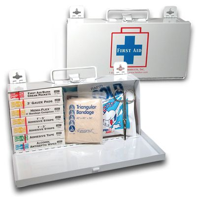 Fieldtex Metal 10 Person First Aid Kit 911-98720-97500S
