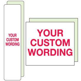 Custom Polished Plastic Signs
