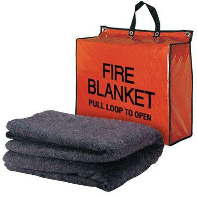 Brooks Fire Blanket & Bag