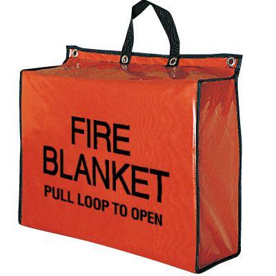 Fire Blanket & Nylon Bag