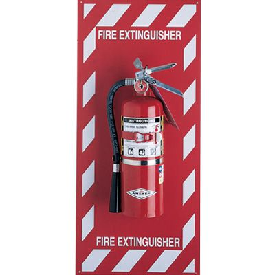 Fire Extinguisher Mounting Panel