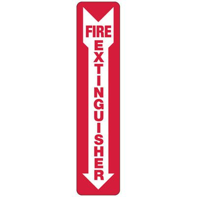 Fire Extinguisher (Arrow Down) - Industrial Fire Signs