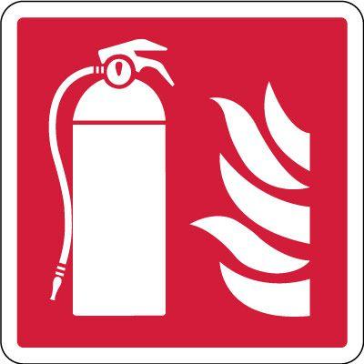 Fire Extinguisher Symbol Sign