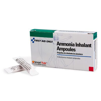 First Aid Only® Ammonia Inhalant Ampoules