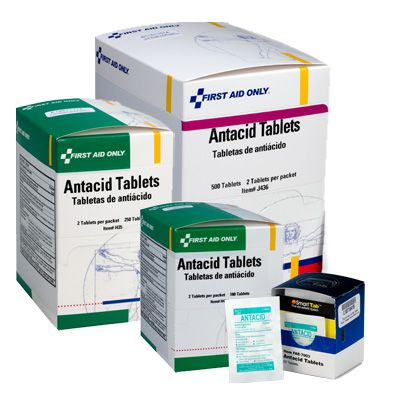 First Aid Only® Antacid Tablets