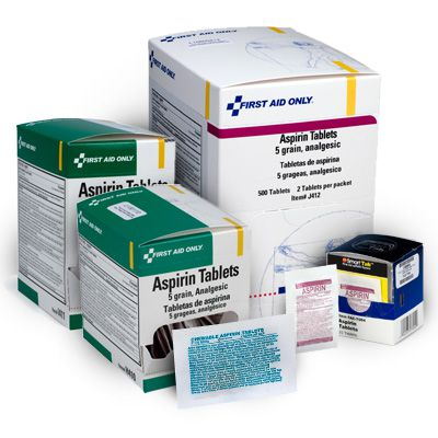 First Aid Only® Aspirin Tablets