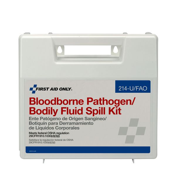 First Aid Only™ Bloodborne Pathogen/Bodily Fluid Spill Kit 214-U/FAO