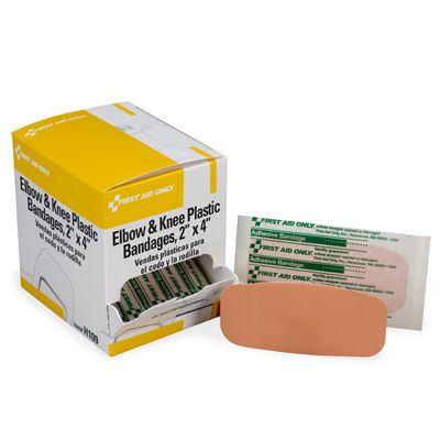 First Aid Only® Elbow & Knee Plastic Bandages H109
