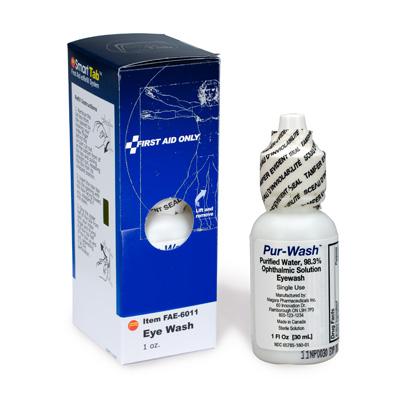First Aid Only™ Eye Wash, 1 oz. FAE-6011