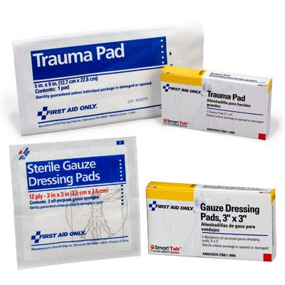 First Aid Only® Gauze Pads