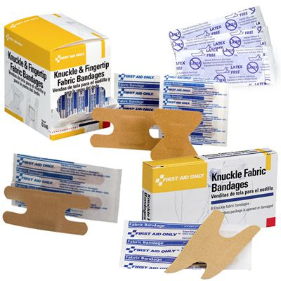 First Aid Only® Knuckle Fabric Bandages