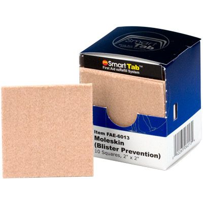 SmarTab® ezRefill Moleskin/Blister Prevention Squares FAE-6013