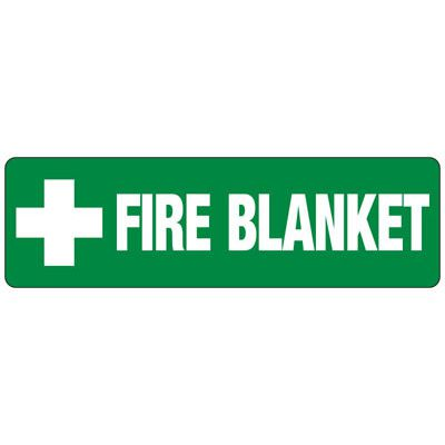 Fire Blanket (Graphic) - First Aid Signs