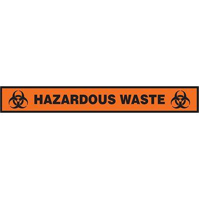 Floor Label- Hazardous Waste