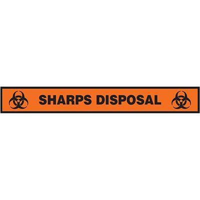 Floor Label- Sharps Disposal