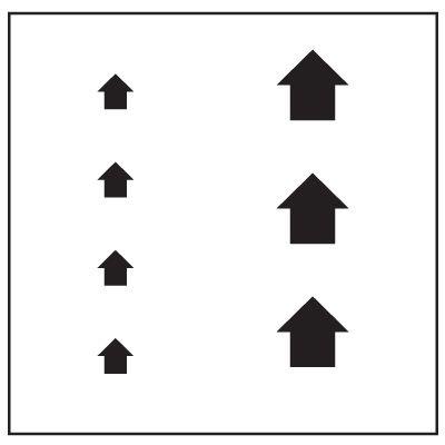 Large Floor Stencils - Arrows (Multiple Sizes)