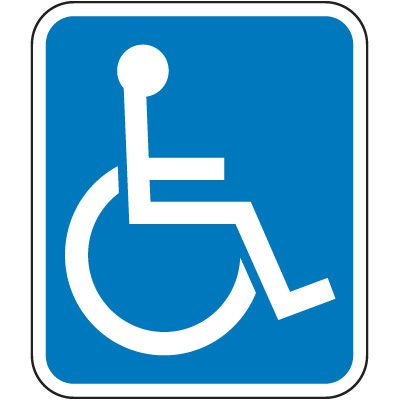Florida State Handicap Signs - (Handicap Symbol)