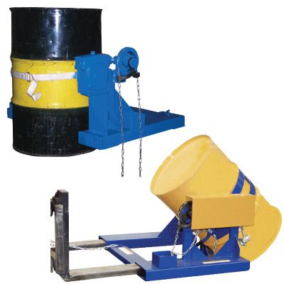 Fork Truck Drum Carriers/Rotators
