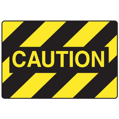 Forklift Safety Signs - Caution