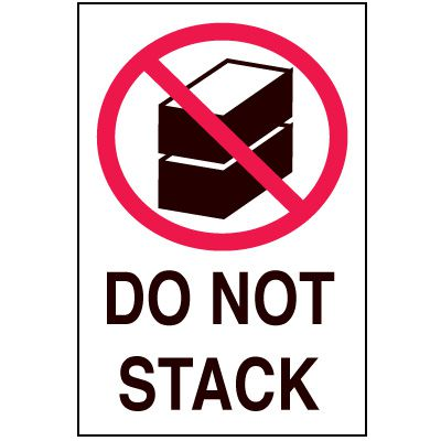 Fragile Labels - Do Not Stack