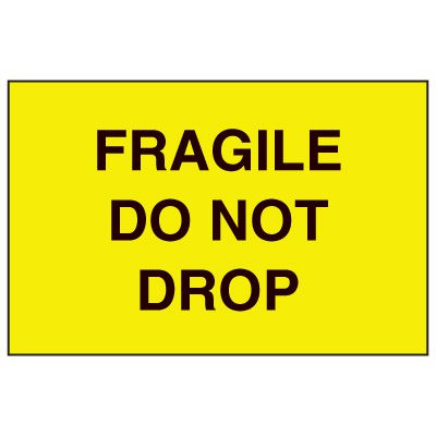 Fragile Labels - Fragile Do Not Drop