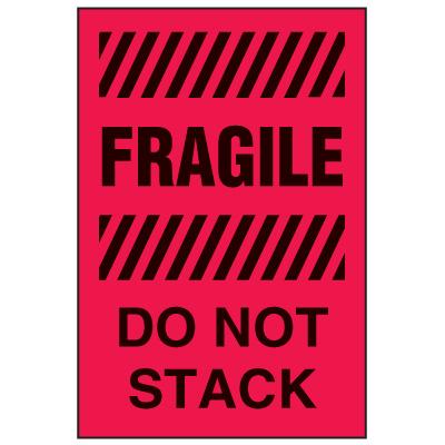 Fragile Labels - Fragile Do Not Stack
