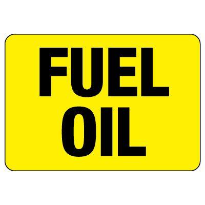 Fuel Oil Sign