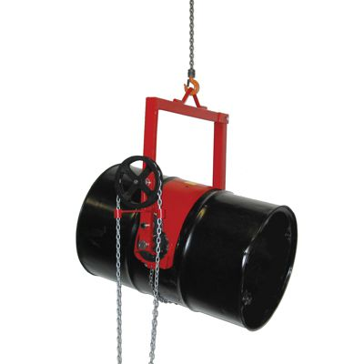 Gear Controlled Drum Lifter/Dispenser