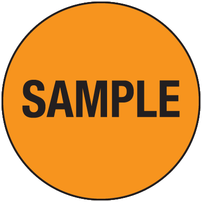 Sample General Information Labels