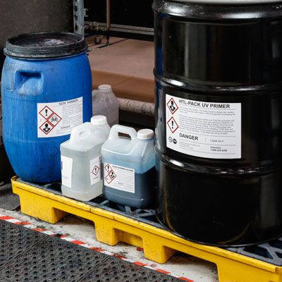 2-Drum Spill Deck