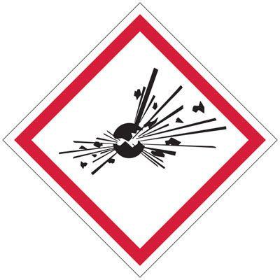 GHS Sign - Explosive