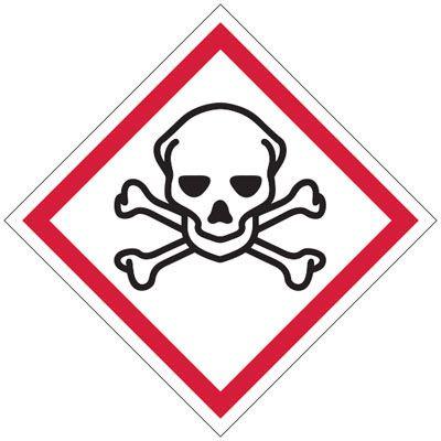 GHS Sign - Toxic | Seton