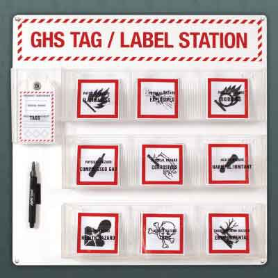GHS Tag/Label Station