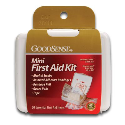 GoodSense Mini First Aid Kit 8-46036-00203-4