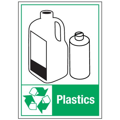 Graphic Recycling Labels - Plastics