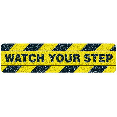 Sure-Foot Watch Your Step Warning Strips 84625M