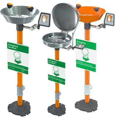 Guardian Pedestal Mounted Eyewash Station