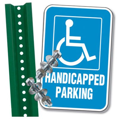Handicap Parking Space Kit - Handicapped Parking (With Graphic)