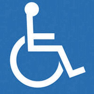 Handicap Symbol Decor Signs
