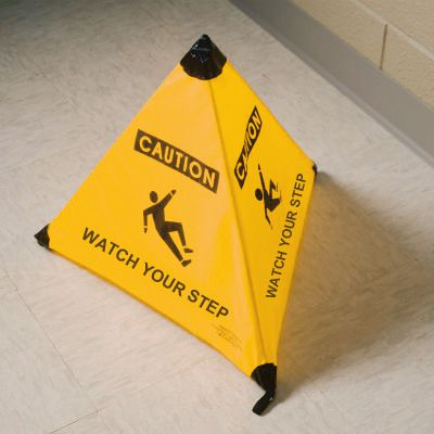 Handycone™ Triangle - Caution Watch Your Step