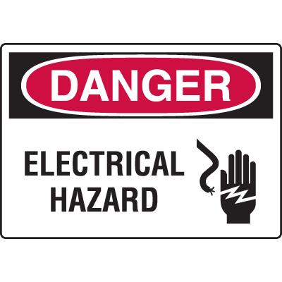 Harsh Condition OSHA Signs - Electrical Hazard
