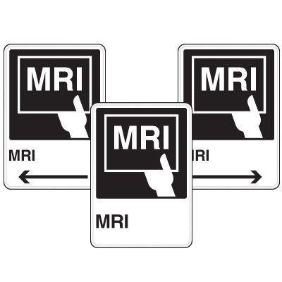 Health Care Facility Wayfinding Signs - MRI