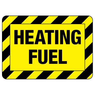 Heating Fuel Sign