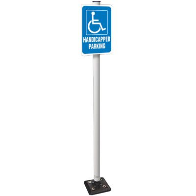 Heavy-Duty Flexible Sign Systems - Handicapped Parking
