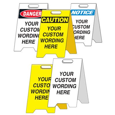 Custom Heavy Duty Floor Stand Signs