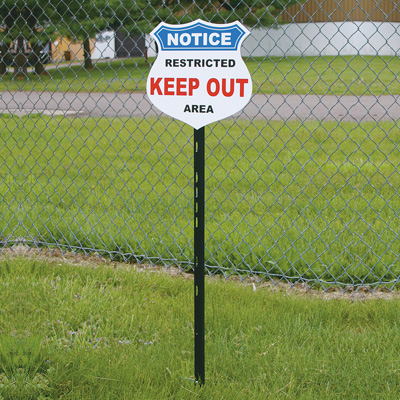 Steel Sign Stake